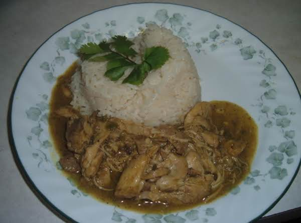 Coconut Curry Chicken With Basmati Rice