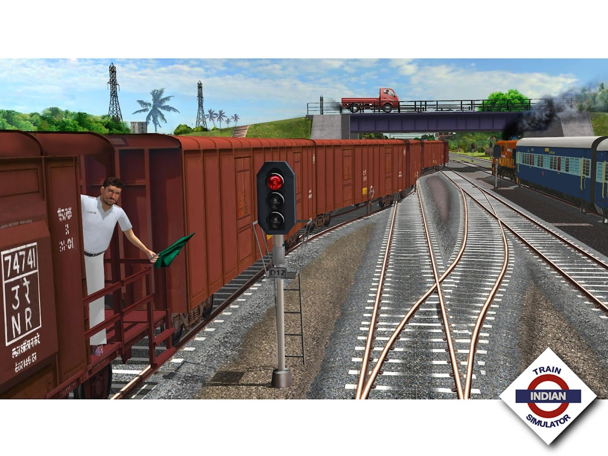 Indian Train Simulator- screenshot