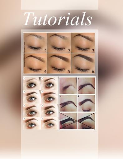 DIY Eyebrows Step by Step Free