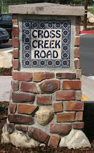 Photo: Cross Creek Road Sign -Malibu Tile Works Commissioned by the City of Malibu, CA