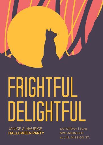 Frightful & Delightful - Halloween Template