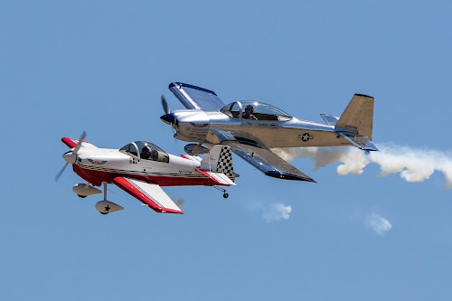 Side by side by Jim Talbert - Transportation Airplanes ( flight, sky, airplanes, airplane, airshow,  )
