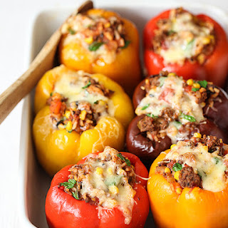 Stuffed Bell Peppers Without Rice Recipes.