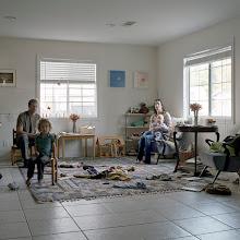 Photo: title: Henry, Moira, Jack + August Tarmy, Ojai, California date: 2012 relationship: friends, art, met through Meghan Brady years known: 5-10