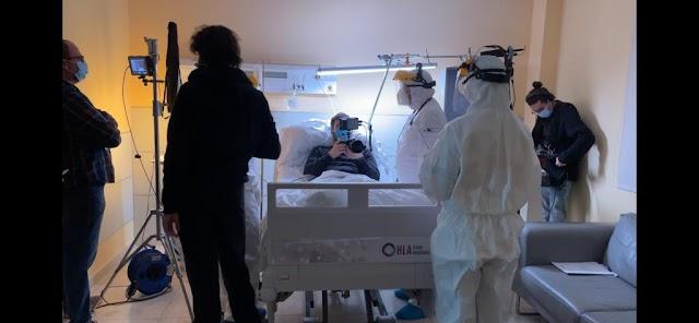 Una habitación de hospital es la principal localización del corto.
