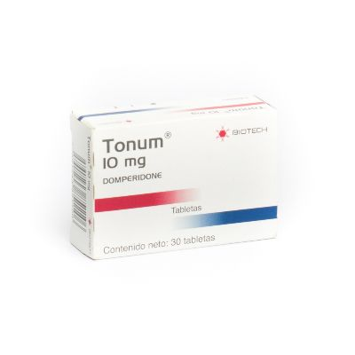 Domperidona Tonum 10mg 30 Tabletas Biotech