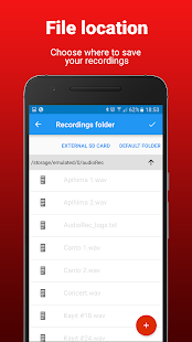 AudioRec Pro - Voice Recorder Screenshot