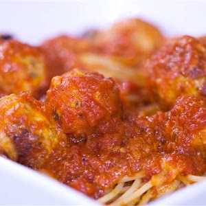 Alton Brown's Chicken Parmesan Balls