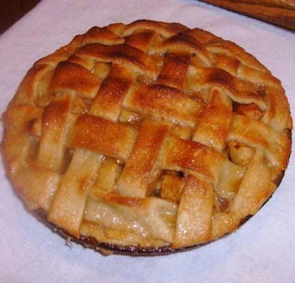 Caramel Topped Apple Pie Recipe