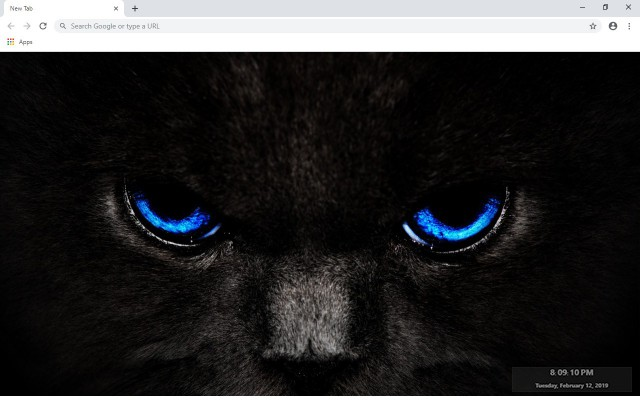 Panther New Tab & Wallpapers Collection