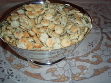 Marinated Oyster Crackers Recipe
