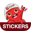 Octo Stickers by CIMB icon