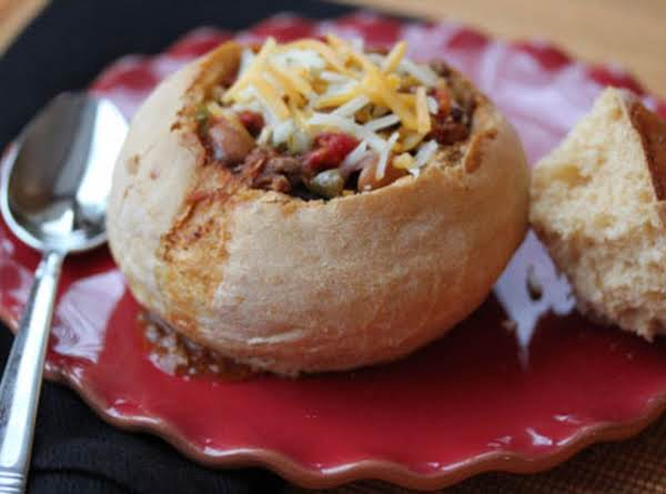 Homemade Bread Bowls For Chili Made In Bread Maker Recipe