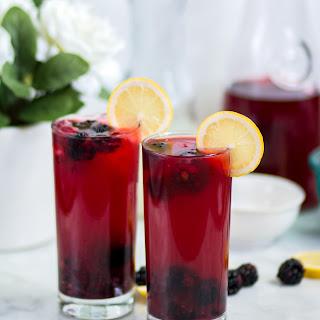 Blackberry Lemonade Drink Recipes