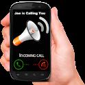 Caller Name, SMS & App Talker icon