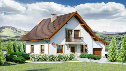 projekt Dom przy Oliwkowej 5 H