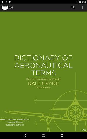 Aviation Dictionary Screenshot