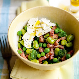 Low Calorie Pea Salad With Bacon Recipes