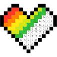 Color by Number - Pixel Art Coloring Book