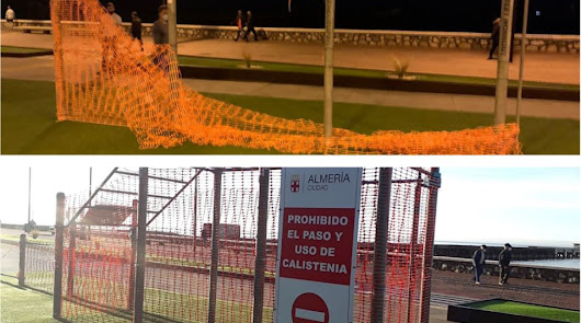 El Ayuntamiento denuncia la rotura de precintos en las zonas deportivas