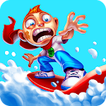Skiing Fred Icon