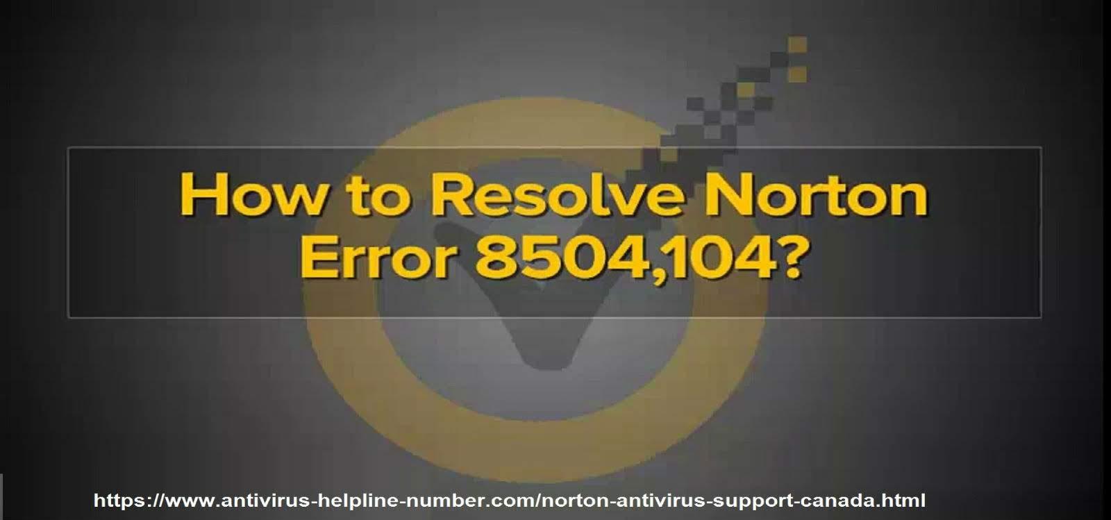 Norton Security Error Issue