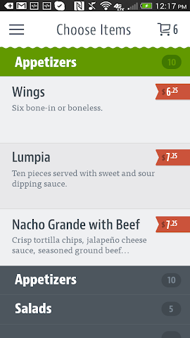 android Dine on the Go - PNW Screenshot 2