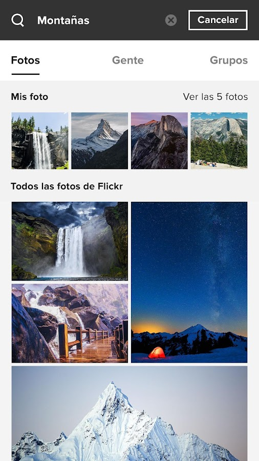 flickr aplicaciones de android en google play. Black Bedroom Furniture Sets. Home Design Ideas