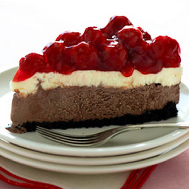 Breyers Chocolate Cherry Cheesecake