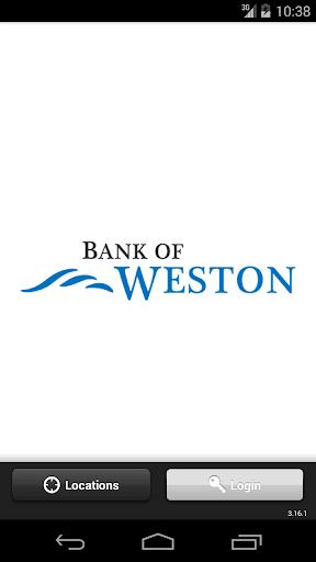 Bank of Weston Mobile Banking