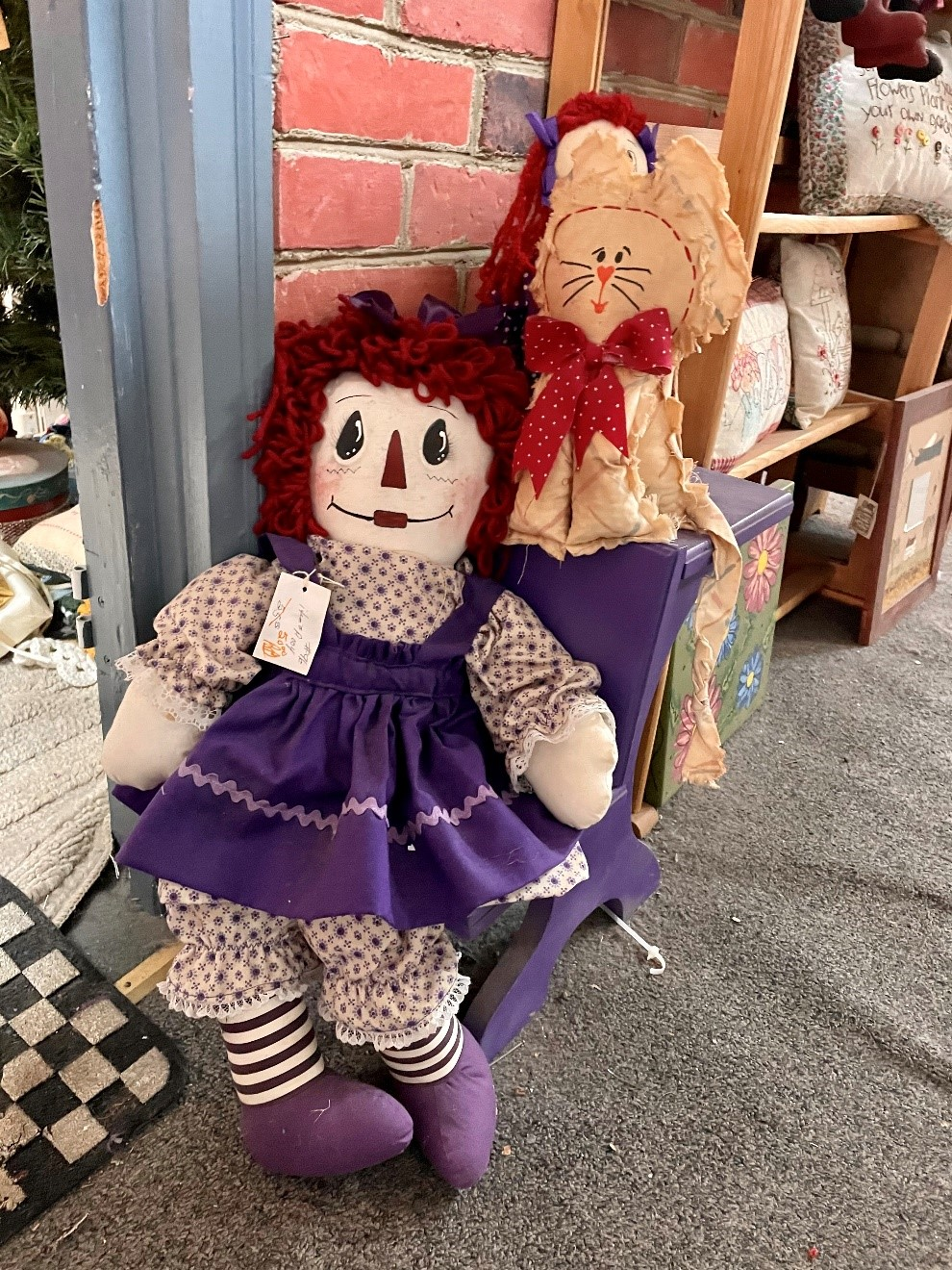 A picture containing doll, toy  Description automatically generated