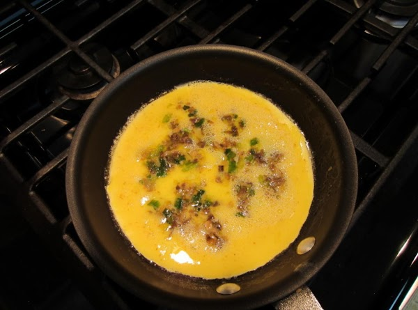 In a bowl, beat the eggs with the water and add shichimi.  Add...