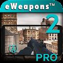 Arma Câmera 3D 2 Armas Sim Pro