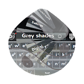 Grey shades GO Keyboard