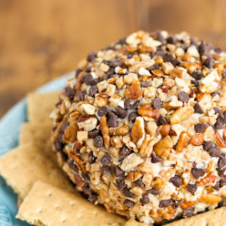 Chocolate Toffee Cheese Ball.
