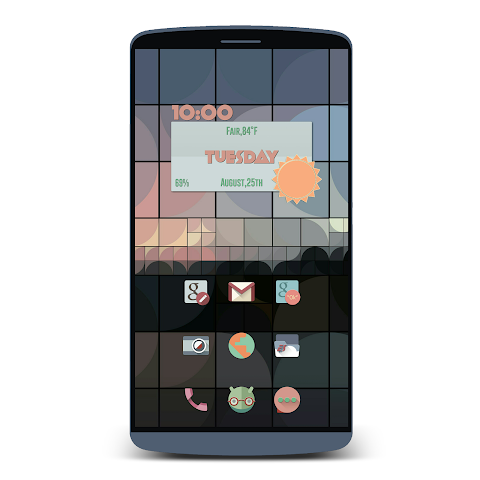 android RETRORIKA ICON PACK Screenshot 5
