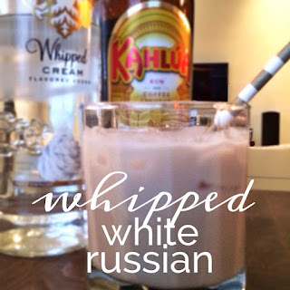 Whipped White Russian.
