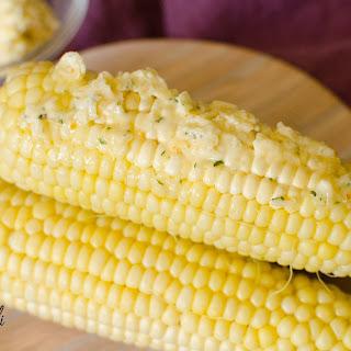 Garlic Parmesan Corn on the Cob.