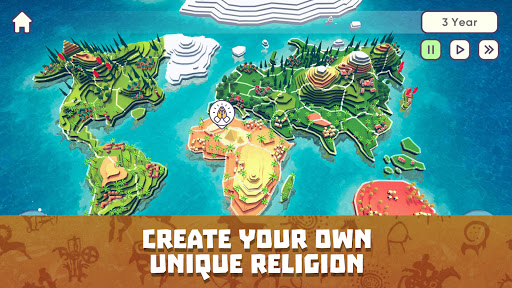 God Simulator. Sandbox strategy game Religion Inc. 1.1.72 screenshots 2
