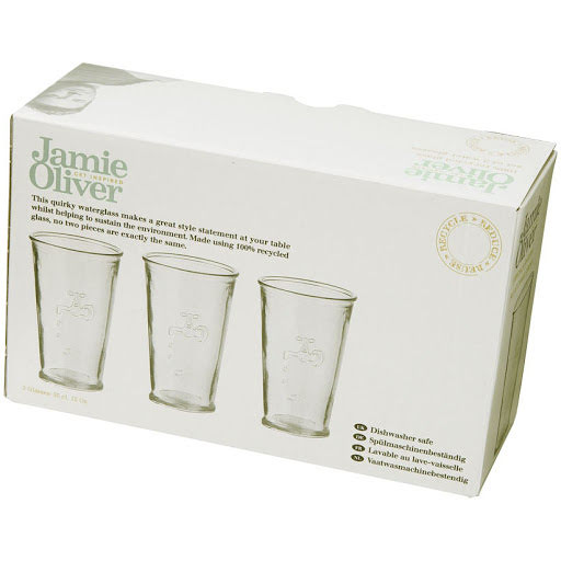 Recycled Water Glasses Set