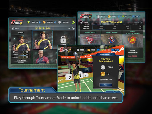 LiNing Jump Smash 15 Badminton 1.3.10 screenshots 3