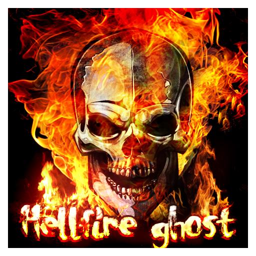 Hell Fire Ghost Keyboard