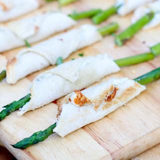 Asparagus and Blue Cheese Rollups.
