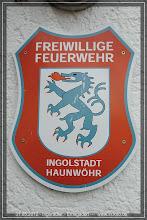 Photo: hier am Feuerwehrhaus in Haunwöhr ist um 15.00 Uhr Treffpunkt und Abfahrt