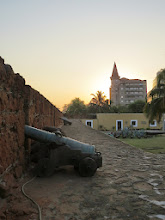 Photo: old Portuguese military fort in the capital city, Maputo, Mozambique