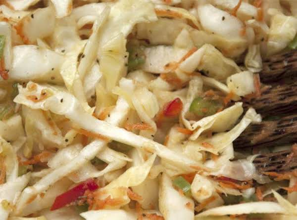 No Mayo In This Slaw.