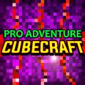 Cube Craft Pro Adventure Crafting Games icon