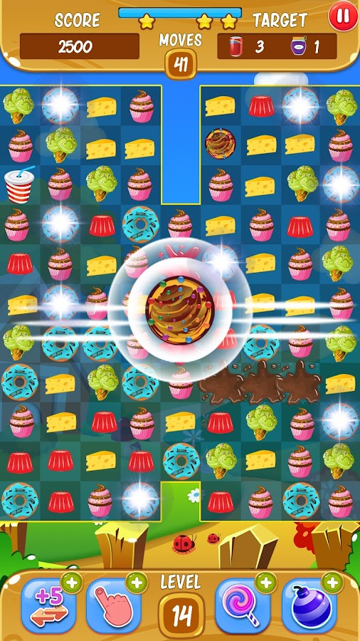 Snack Crash- screenshot