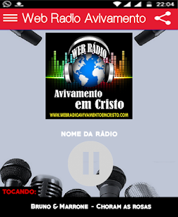 Download Web Rádio Avivamento For PC Windows and Mac apk screenshot 1