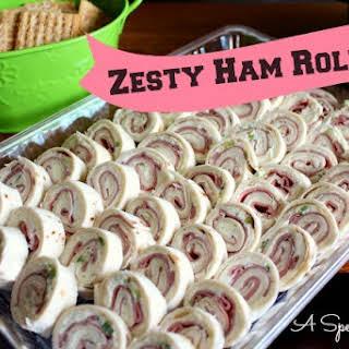 Zesty Ham Roll Ups.